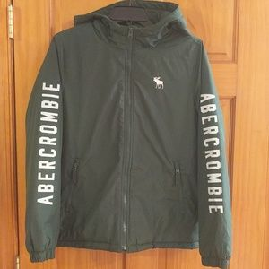 Boys Abercrombie and Fitch spring jacket.